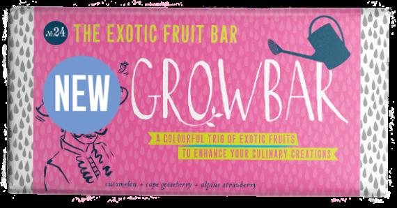 Bar Artwork Exotic Fruit New Badge