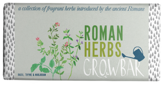 Bar Artwork Roman Herbs Text