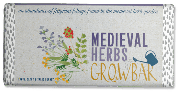 Medieval Herbs Growbar Artwork
